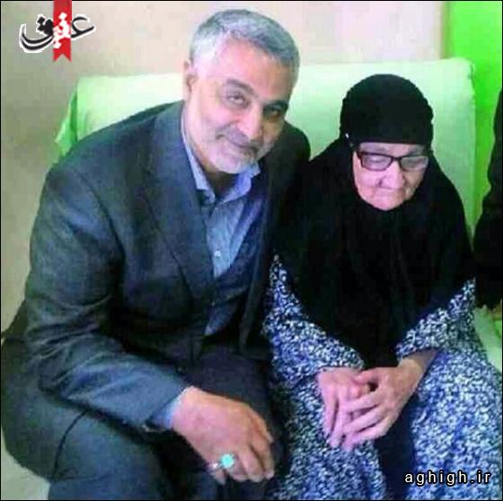 عکس حاج قاسم سلیمانی فرمانده سپاه قدس