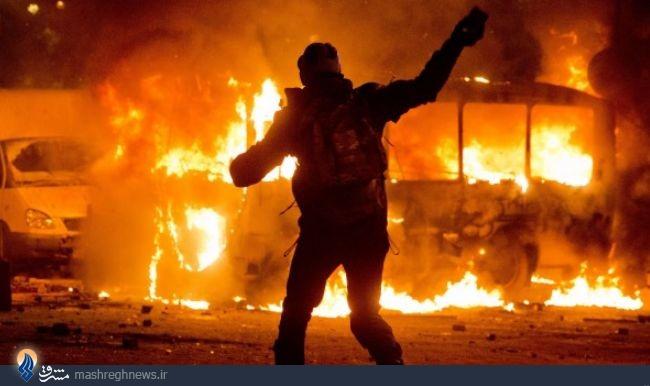 اسرائیل چگونه تظاهرات اوکراین را نظامی کرد/40 زن و مردی که دستور آشوب از
