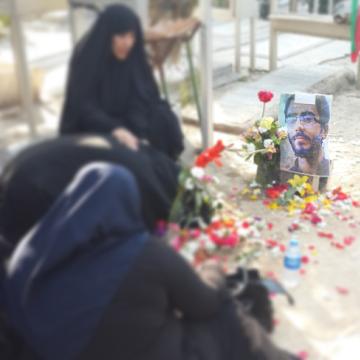 عکس/شهید خلیلی در جمع خانواده