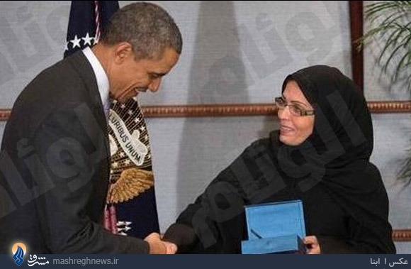 دیدار اوباما با شجاعترين زن جهان +عکس