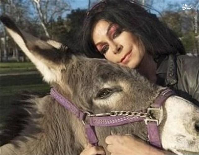 جفت گیری زن از ازدواج با الاغ در غرب تا آرامش سگی در ایران + تصاویر ...
