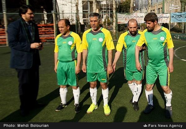 عکس/ تیپ فوتبالی علی مطهری