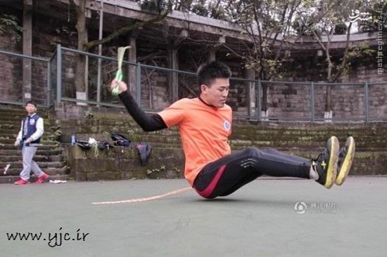 تنبلانه ترین ورزش در دنیا +عکس