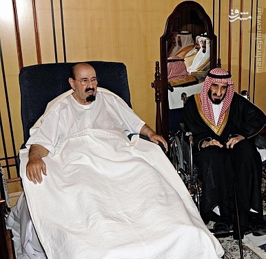 شاه سعودی رو به موت شد