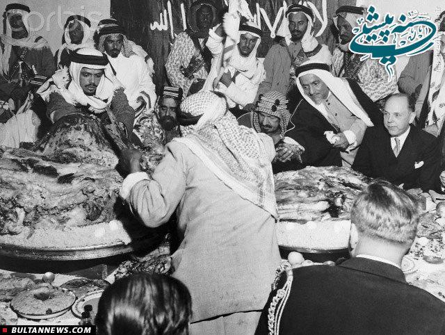 عکس/ شترخوری پادشاه عربستان