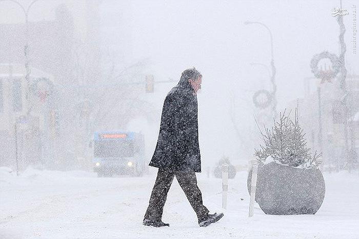 شیکاگو آمريكا یخ زد , مجله مراحم (تصاویر)
