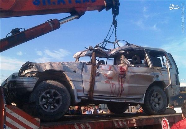 حادثه رانندگی جان 7 نفر را در قم گرفت + عکس