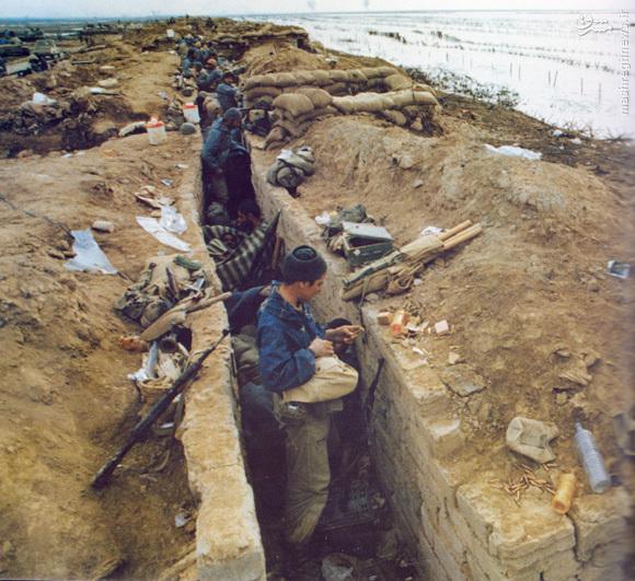 کانال ماهی در جبهه