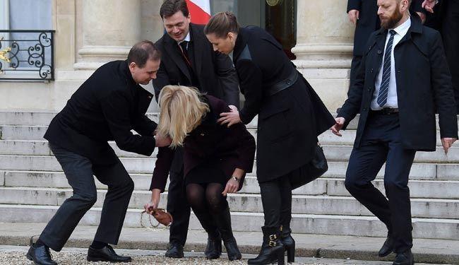 نخست وزیر زن دانمارک مقابل