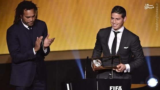 رونالدو برترین بازیکن و یواخیم لوو بهترین سرمربی سال شدند + تصاویر