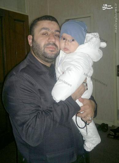 عکس/«شیرِ سامراء» و فرزندش