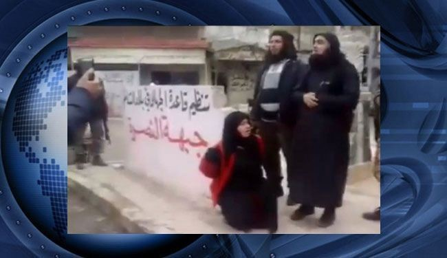 اعدام زن سوری به دست مفتی النصره