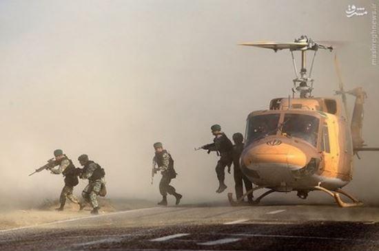 پیام های چهارگانه مانور نظامی ایران برای دوست و دشمن