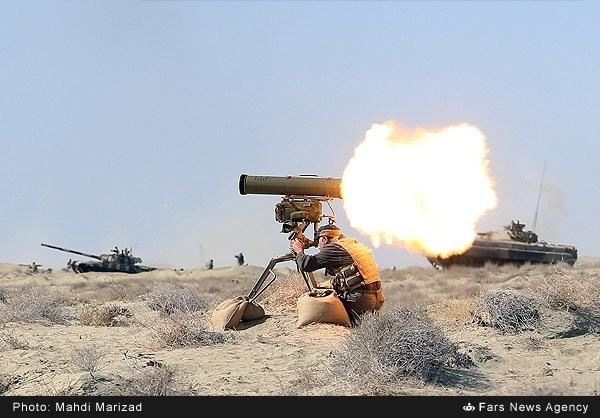 از میدان داری ذوالفقار ایرانی در زمین تا پهپاد شاهین در آسمان/ از حضور شاهر تا شکار تانک های دشمن با دهلاویه+عکس