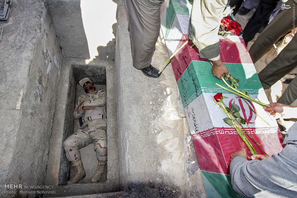 عکس/ حرکت زیبای افسر نیروی انتظامی