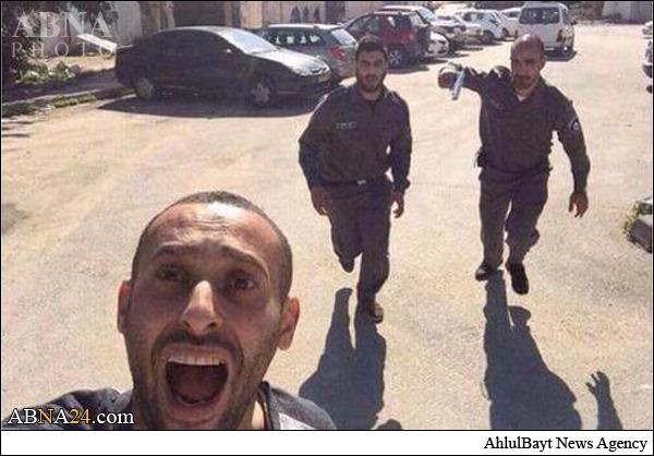 عکس سلفی فلسطینی در اوج وحشت