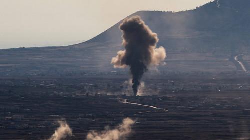 ائتلاف سهجانبه سوریه - حزب الله - ایران برای پاتک در القنیطره/ خودروهای زرهی، اسرائیل را از مصیبت بزرگ نجات داد