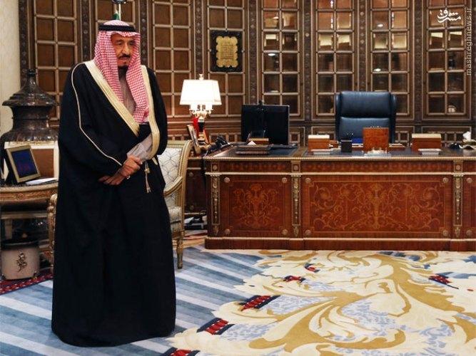906274 830 عکس / دفتر کار پادشاه عربستان سعودی