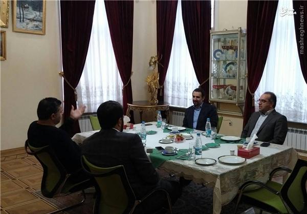 سفیر ایران میزبان علی دایی +عکس