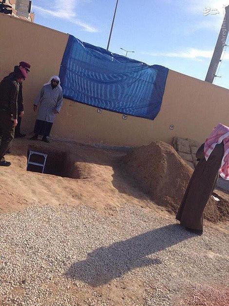 عکس/ محل دفن «ملک عبدالله»