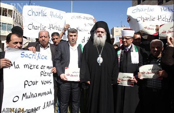 ادای احترام اسقف اعظم به پیامبر اکرم(ص) +تصاویر