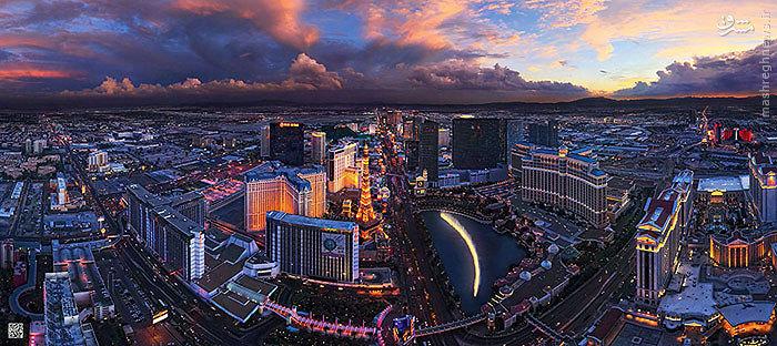 شهرهای مهم جهان را از آسمان ببینید...