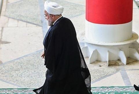 قهر روحانی از جلسه شورا به دلیل انتقاد از عملکرد ظریف