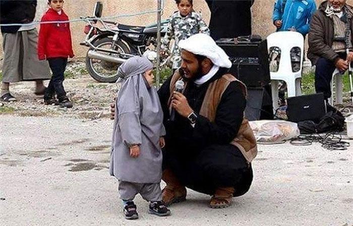 عکس/جریمه داعش برای تماشای باباسفنجی
