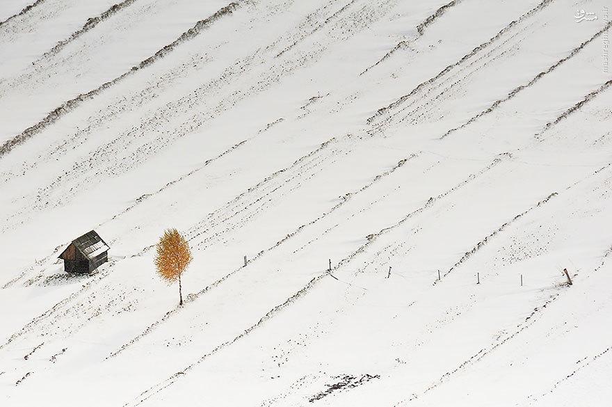 زیباترین کلبه های زمستانی
