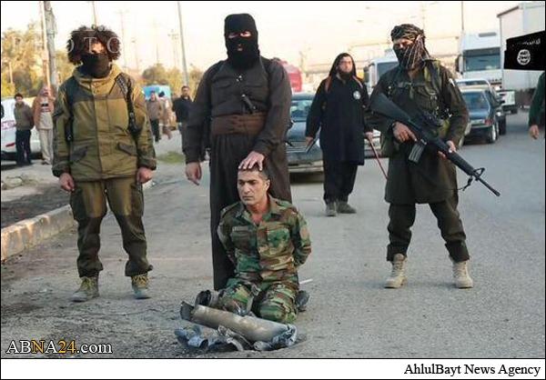 داعش یک نیروی پیشمرگه را سر برید