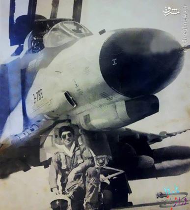 جوانترین خلبان عملیات حمله به اچ-۳+عکس