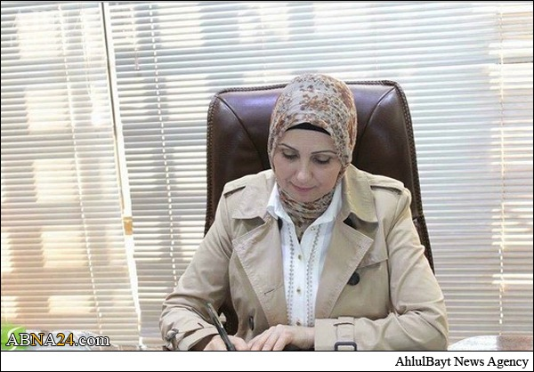 اولین شهردار زن شهر بغداد + عکس