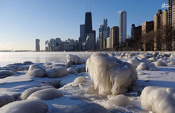 یخبندان در آمریکا