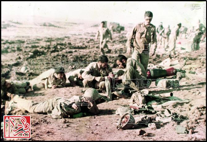عکس/ در مکتب »خمینی»، فرمانده باید این جا باشد