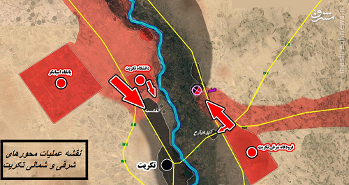 ریشه های بحران امنیتی عراق/طرح 4 مرحله ای سپاه پاسداران برای مهار داعش/جزییات دقیق عملیات پاکسازی استان صلاح الدین/ نقشه + گزارش تصویری/بخش نخست