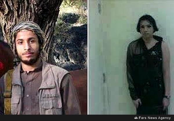 فرار تکفیریهای داعش با پوشش زنانه +عکس