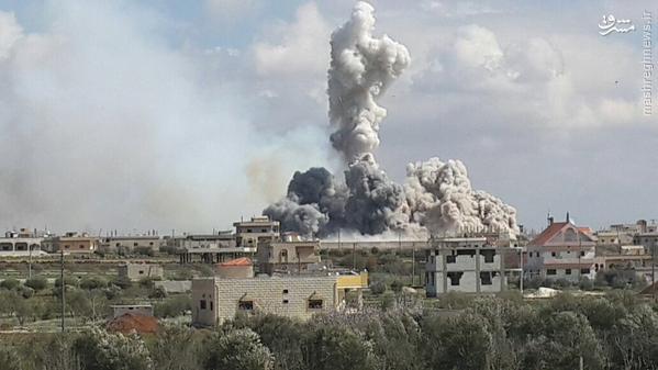 933419 726 تازهترین تحولات میدانی سوریه و تصرف مناطق جدید و استراتژیک در جبهه جنوب سوریه