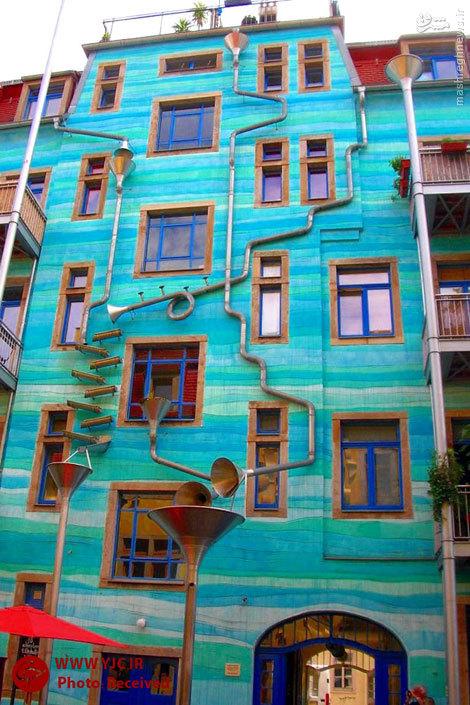 رنگارنگ ترین ساختمان های دنیا