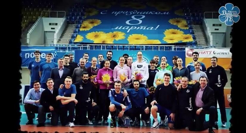 تقدیر معروف و یارانش از تیم والیبال زنان زنیت +تصویر