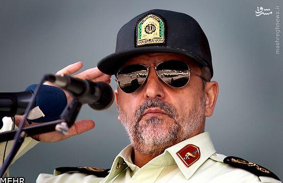 941756 583 اسماعیل احمدیمقدم؛ از طلبهگی در مدرسه حقانی تا فرماندهی نیروی انتظامی