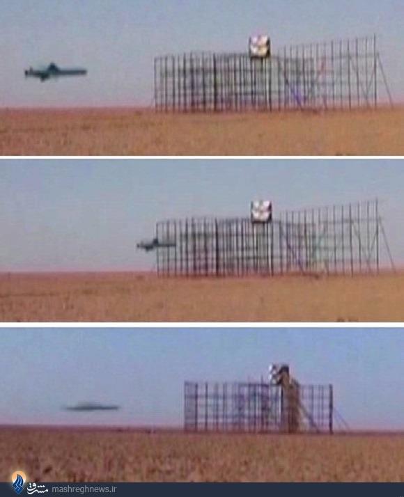 عکس/ دقت موشک قدیر در اصابت به هدف