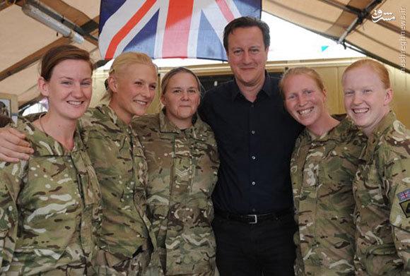 سربازان زن و نوجوان در ارتش انگلیس