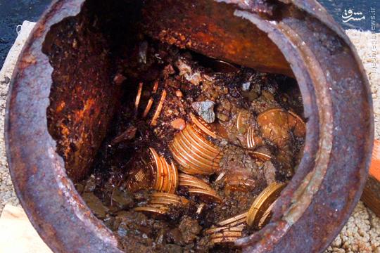 کشف گنجهای طلا در مسیر رود فرات
