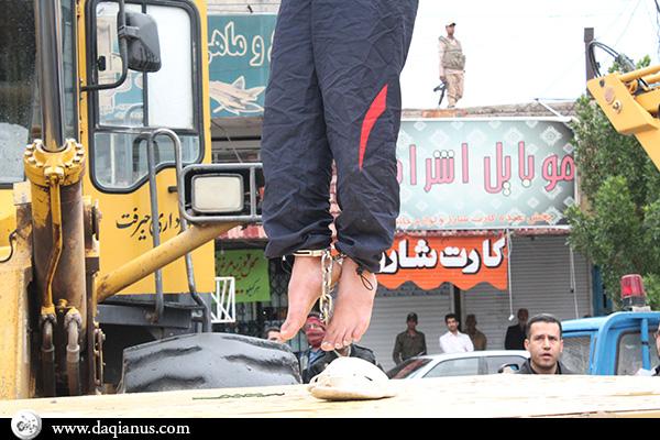 اعدام عاملان دو جنایت اخیر جیرفت +18