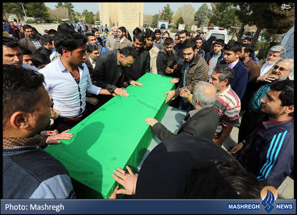 غریبترین شهیدِ «مدافع حرم» در آخرین روز سال+تصاویر