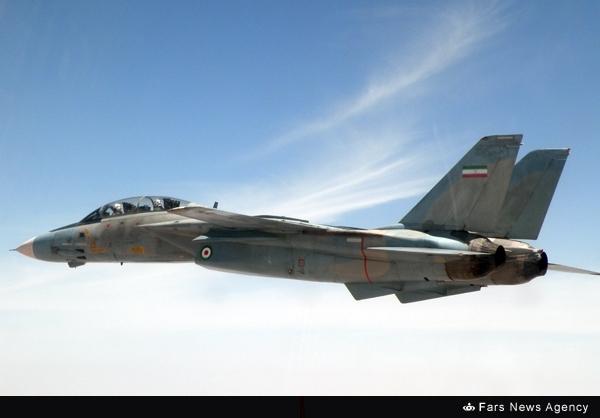 نصب رادار «ملی» روی F14/ تامکت ها بمب افکن میشوند