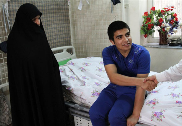 دیدار با یک جانباز افغانستانی مدافع حرم