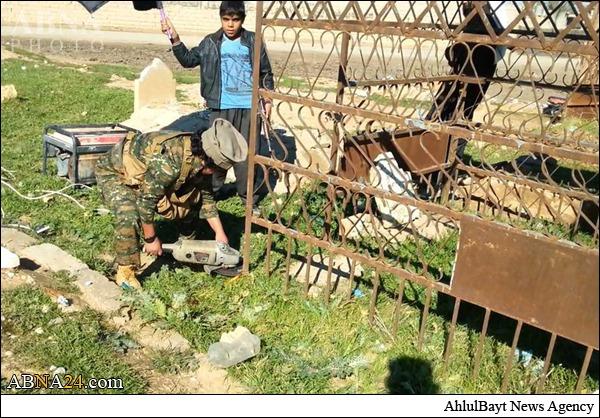 921240 112 تخریب قبرستانی در کرکوک توسط داعش