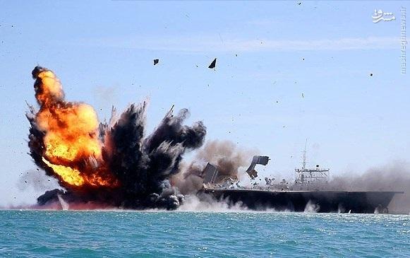 «خلیج فارس»؛ تک تیراندازی که کار ناوهواپیمابر را در 4 دقیقه تمام کرد +عکس  (اماده)
