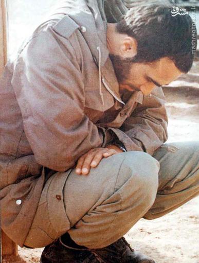 ماجرای تصویر حزنآلود «شهید حسین خرازی» در والفجر۸ + عکس